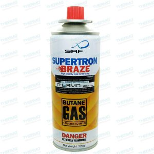 Butane / LPG Gas Canister Can Fit Directly into Flame Torch Guns & also for Refilling Torch Guns Cigarette Lighters