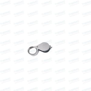 Round Mini Folding Magnifier lens, Magnifying glass, Microscope for Jewelers, Diamonds,etc Hand-held Pocket/Portable