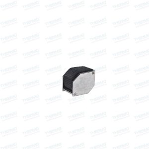 Hex Shape with Rubber Eye Loupe / Magnifier Glass
