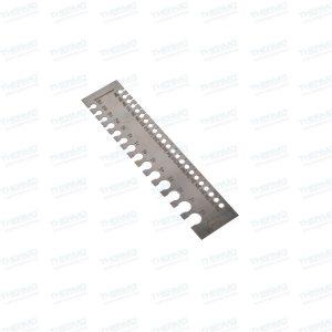 Handy Rectangular Wire Gauge / Sizer in British & Metric