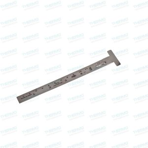 Depth Gauge with Clip 15 cms / 6 inches – Made of Stainless Steel