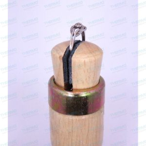 Thermo Wooden Ring Clamp (Parallel Jaw) Single End Holder.