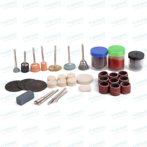 Thermo - 105 Piece Set Multi-function Grinding Polishing Kit For Rotary  Tool Suitable for Electric Drill Angle Grinder