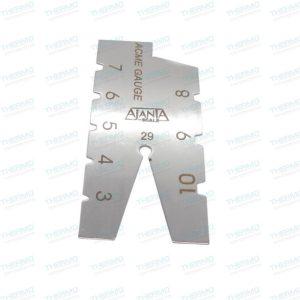 29 Degree Acme Screw Thread Gauge / Grinding Gauge / Inspection Measuring Tool (Made of Stainless Steel)