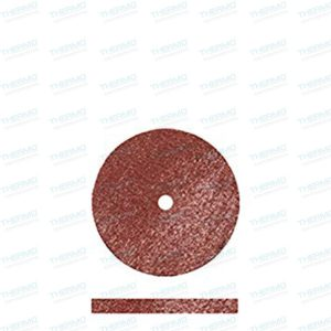 Mahrun Square Edge Rubber Wheels for Polishing Gold & Semi-precious Metals.(pack of 10) with 1 mandril