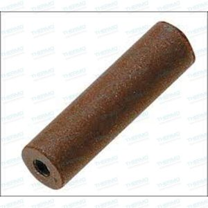 Brown Clasp (cylinder type) Polisher for Polishing Gold & Semi-precious Metals (Pack of 10) with 1 mandril