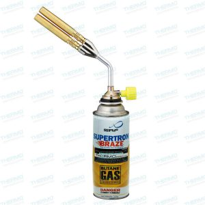 Double Nozzle Butane/LPG Brazing Blow Torch with Manual Ignition