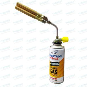 Triple Nozzle Butane/LPG Brazing Blow Torch with Manual Ignition