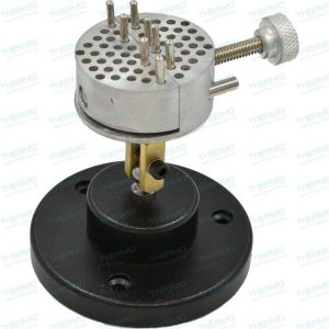 Thermo Universal Work Holder Peg Clamp on Base Jewelers Engravers Revolving Bench Tool