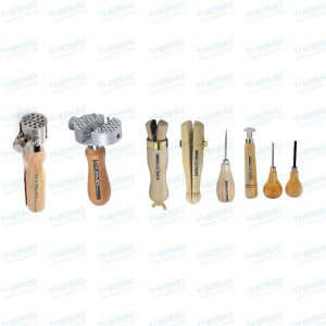 Stone Setting Prong, Bezel Set for Setting Prongs and Bezels, Pin Pusher, Ring Clamps x 2 Pieces & Universal Work Holders x 2 Pieces
